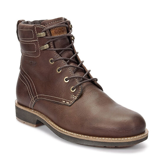 ECCO Bendix Plain Toe Boot (COCOA BROWN)