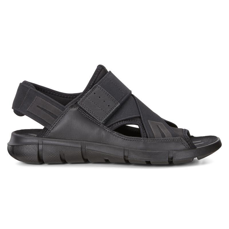 black ecco sandals