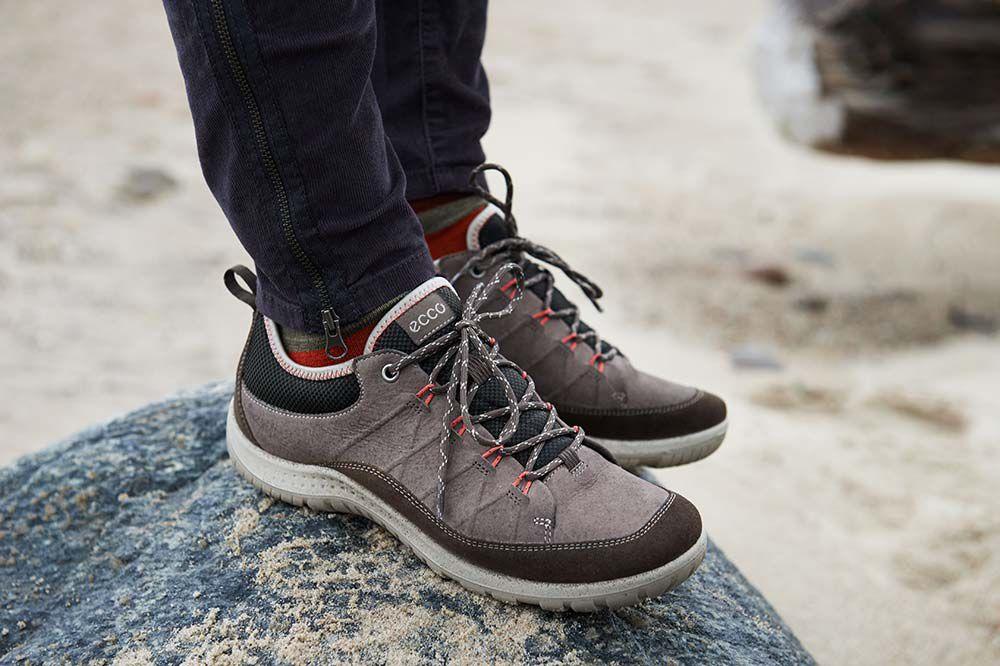 ecco ASPINA - Hiking shoes - grey ugM8r370Y