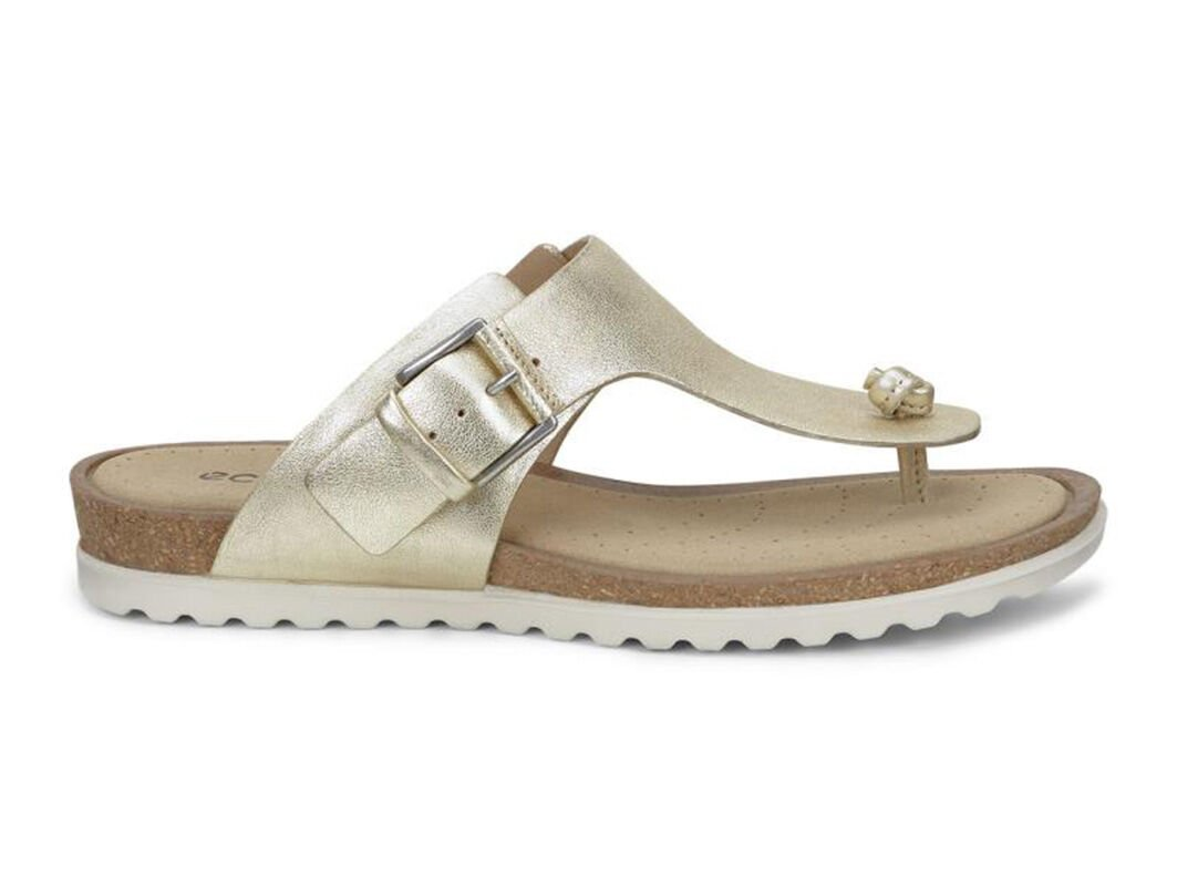 Womens Sandals ECCO Dagmar Sandal Light Gold