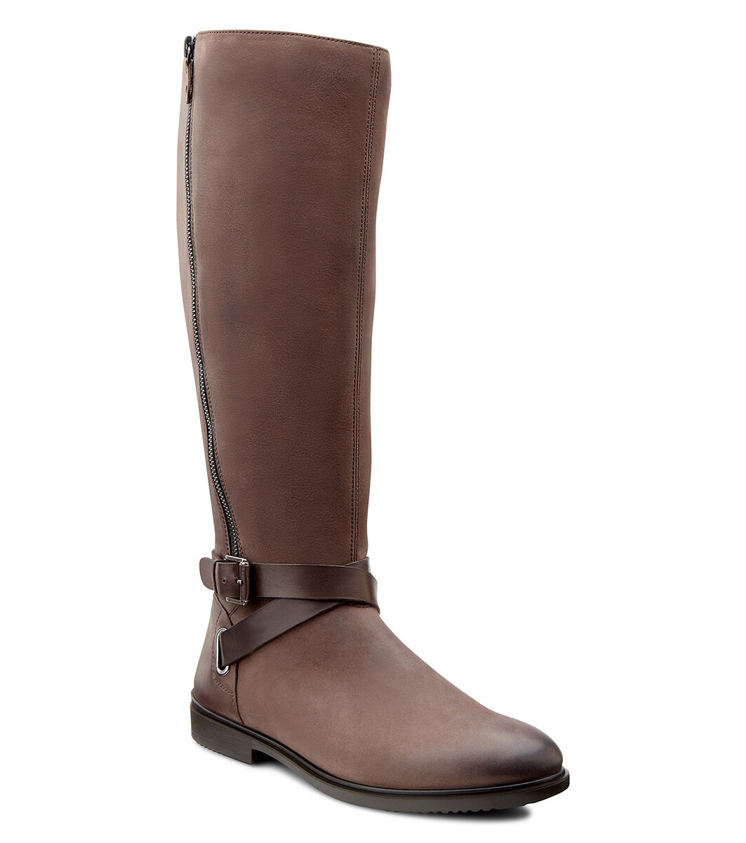 Womens Boots ECCO Touch 15 Tall Boot Mocha/Coffee