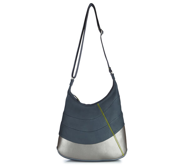 ECCO Perf Lite Big Hobo Bag (DARK SHADOW/SULPHUR)