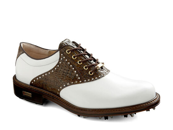 ECCO Mens Worlds Class GTX (WHITE/RUSTIC BROWN)