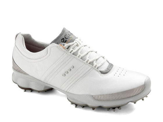 ECCO Mens BIOM Golf Hydromax (WHITE/CONCRETE)