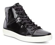 ECCO Mens Soft 7 Luxe High Top (BLACK)