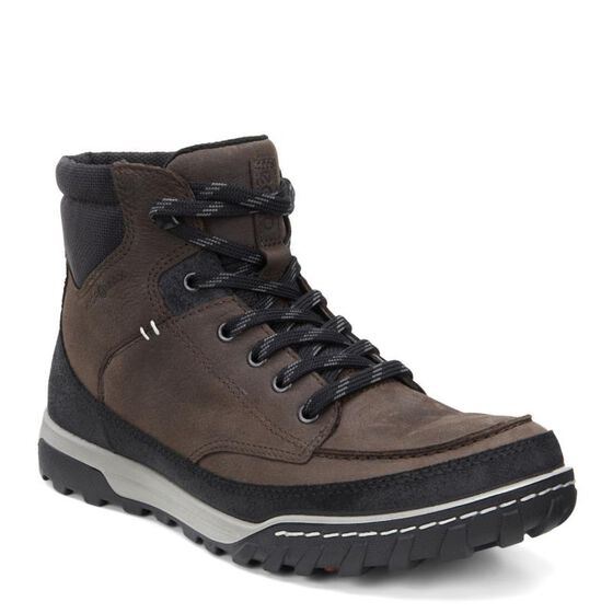 ECCO Mens Urban Lifestyle High (BLACK/COFFEE)