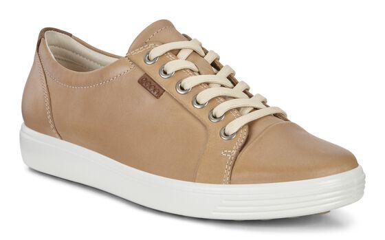 ECCO Womens Soft 7 Sneaker (POWDER)