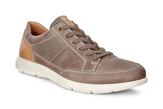 ECCO IOWA Shoe (STONE/LION)