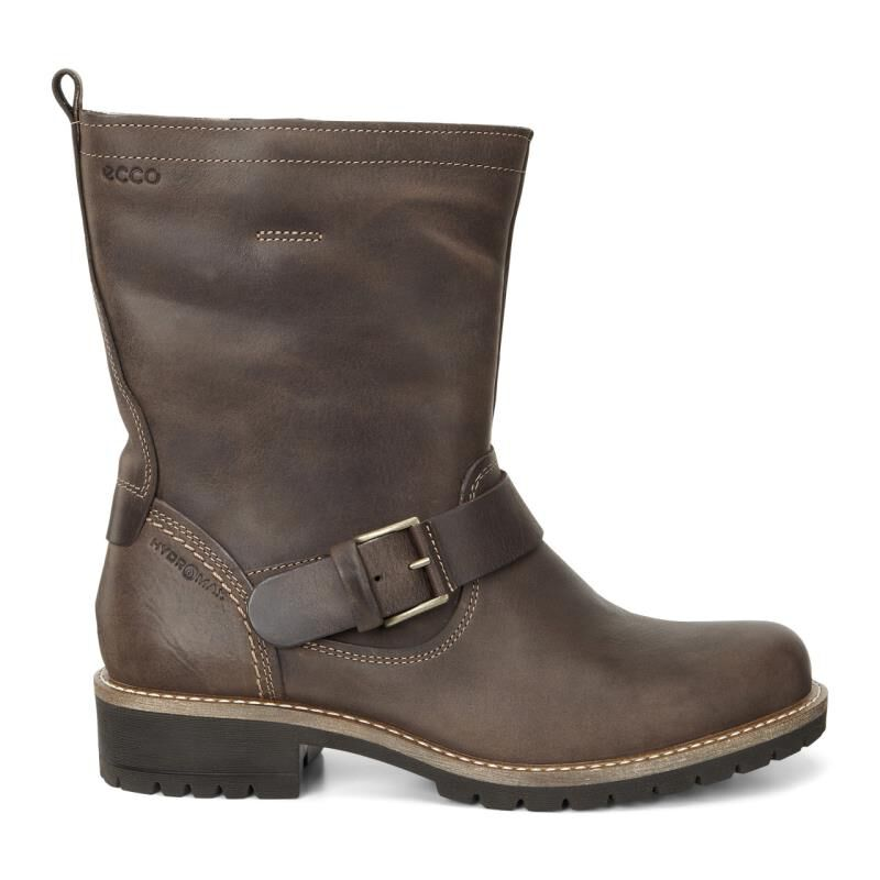 Womens Boots ECCO Elaine Buckle Boot Cocoa Brown