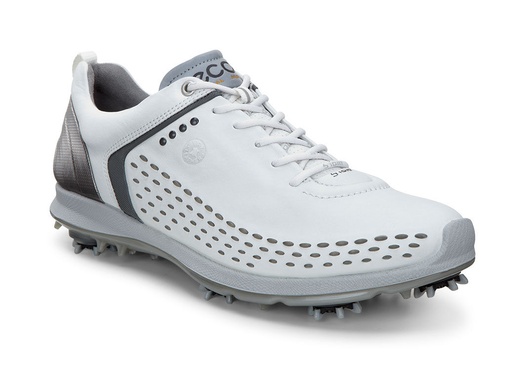 Men's ECCO 'Biom' Hydromax Waterproof Golf Shoe, Size 10-10.5US / 44EU - White