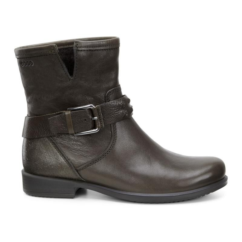 Womens Boots ECCO Touch 25 Buckle Boot Black/Black