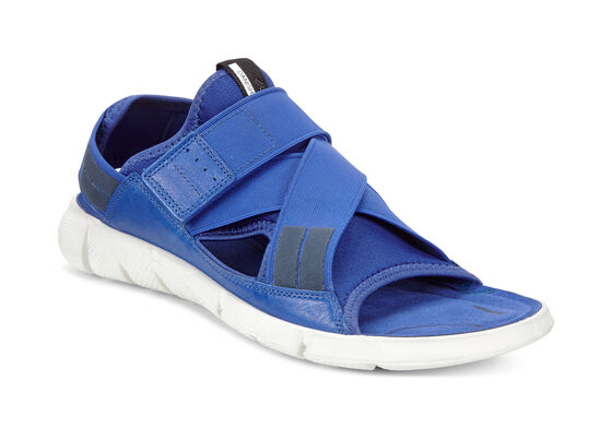 ECCO Womens Intrinsic SandalECCO Womens Intrinsic Sandal in MAZARINE BLUE/MAZARINE BLUE (55694)