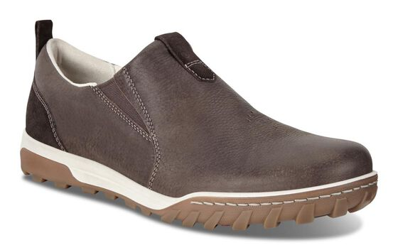 ECCO Mens Urban Lifestyle Slip (COFFEE/LICORICE)