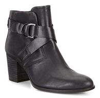 ECCO Shape 55 Mid Cut Boot (BLACK/BLACK)