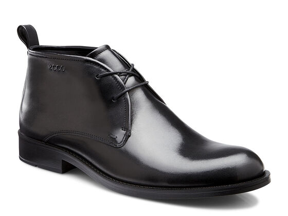 ECCO Birmingham Chukka Boot (BLACK)