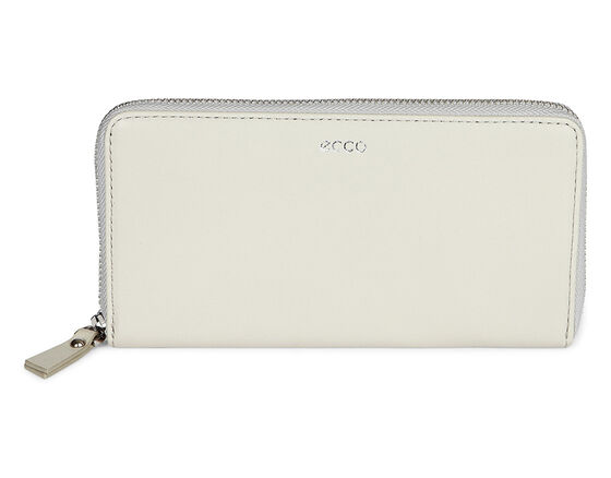 ECCO Deline Large Zip Wallet (GRAVEL)