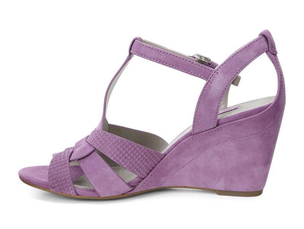 Online Shop Womens Sandals ECCO Rivas 75 Fuchsia/Fuchsia