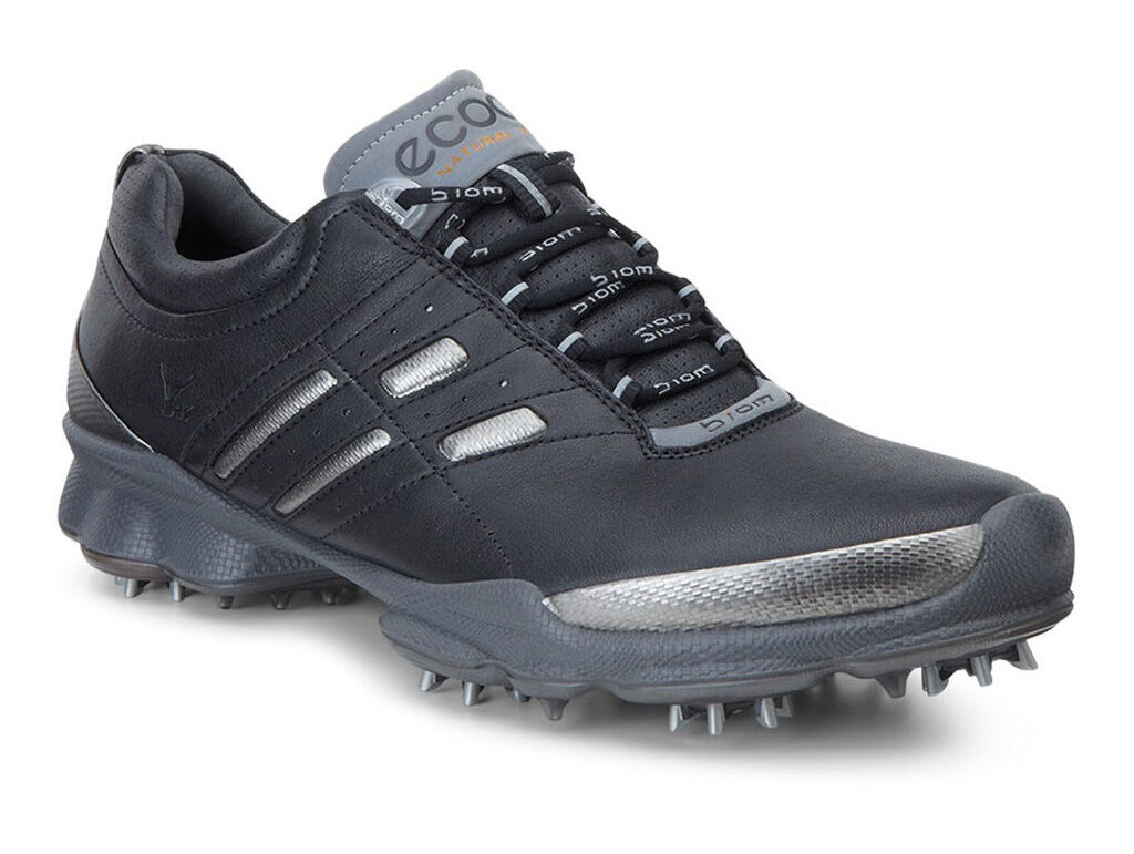 Video · ECCO Mens BIOM Golf LaceECCO Mens BIOM Golf Lace BLACK/STEEL  (50598) ...