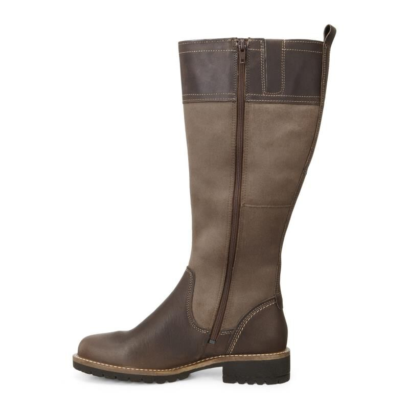 ECCO Elaine Tall Boot 244653 59360 COCOA BROWN STONE
