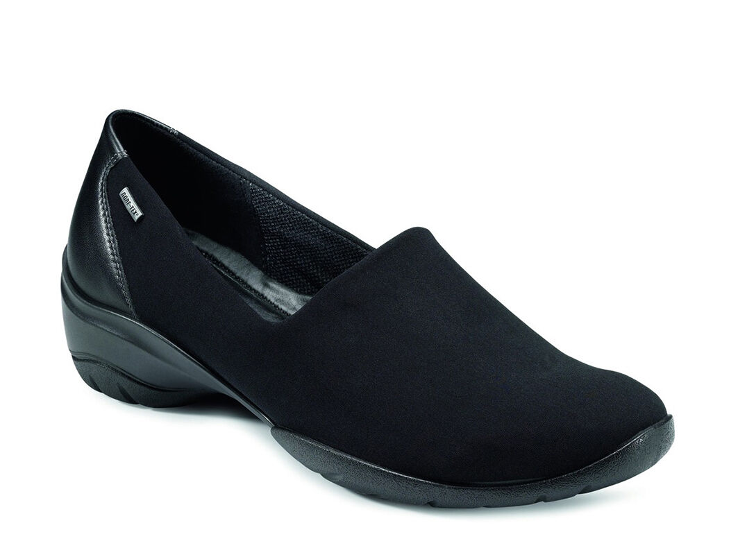 ecco black shoes for women
