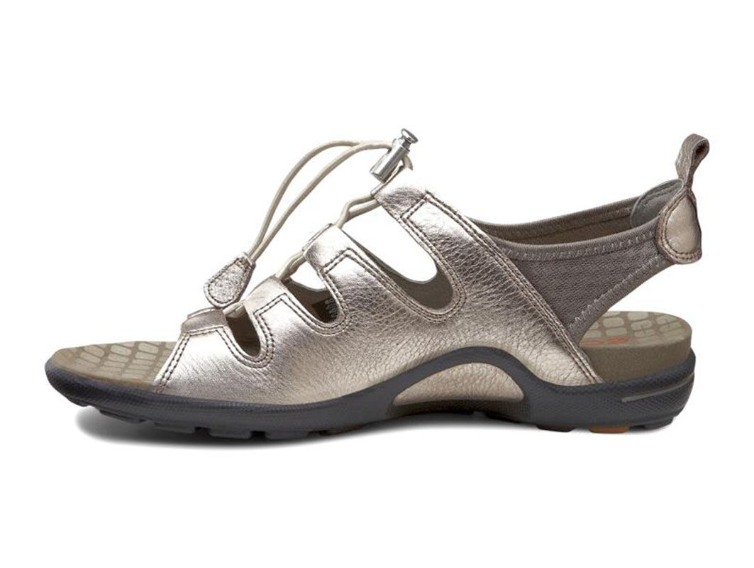 ... ECCO Jab Toggle SandalECCO Jab Toggle Sandal WARM GREY METALLIC/WARM  GREY (57966) ...