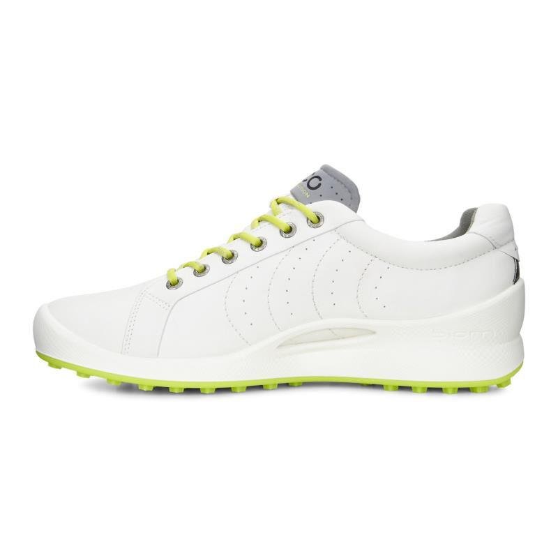 ecco BIOM HYBRID - qyeelk69zm shoes - white/lime punch XH8iNw8
