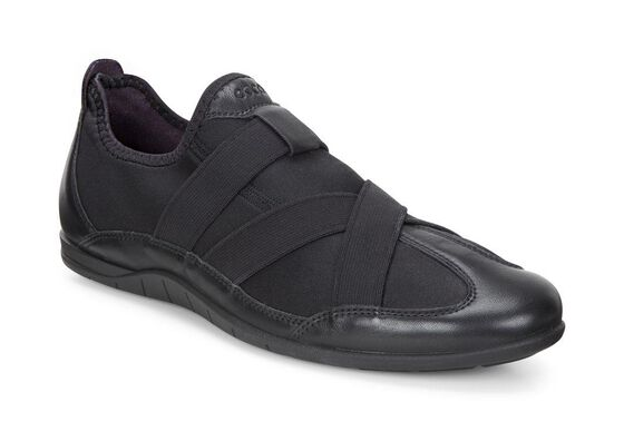 ECCO Bluma Slip On (BLACK/BLACK)