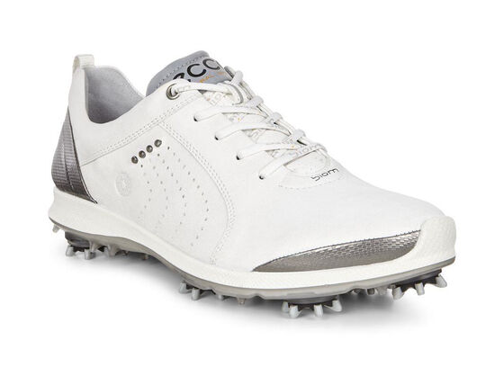 ECCO Womens BIOM G 2 Free (WHITE/BUFFED SILVER)