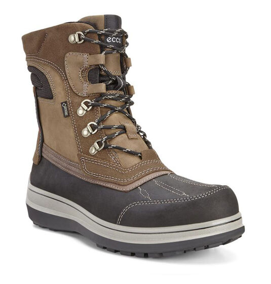 ECCO Roxton GTX Boot (BLACK/COFFEE)