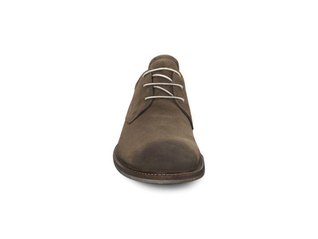 Mens Shoes ECCO Findlay Tie Birch/Walnut