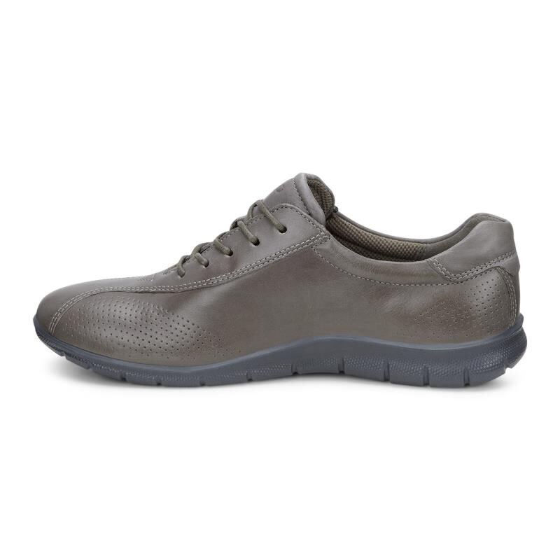 Womens Shoes ECCO Babett Tie Warm Grey