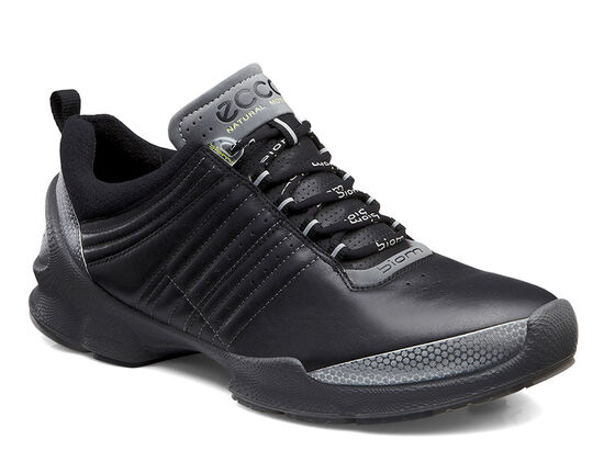 ECCO Mens BIOM Train (TITANIUM METALLIC/BLACK)